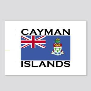 Cayman Islands Flag Postcards (Package of 8)