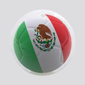 Mexico World Cup Ball Ornament (Round)