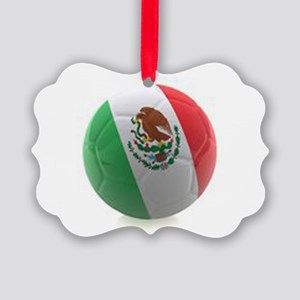 Mexico World Cup Ball Ornament