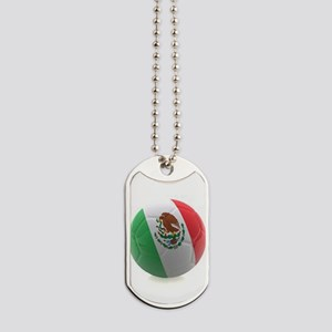 Mexico World Cup Ball Dog Tags