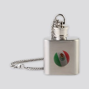 Mexico World Cup Ball Flask Necklace