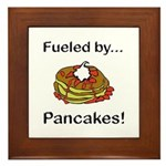 Fueled by Pancakes Framed Tile