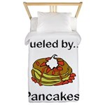 Fueled by Pancakes Twin Duvet