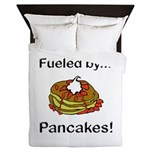 Fueled by Pancakes Queen Duvet