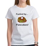 Fueled by Pancakes Women's T-Shirt