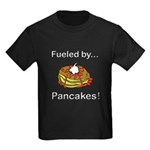 Fueled by Pancakes Kids Dark T-Shirt