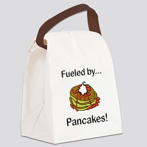 Fueled by Pancakes Canvas Lunch Bag