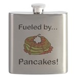 Fueled by Pancakes Flask
