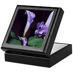Purple Calla Lily Art Keepsake Box