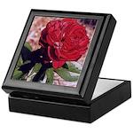 Red Rose Art Keepsake Box
