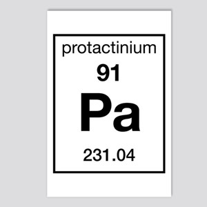 Protactinium Postcards (Package of 8)