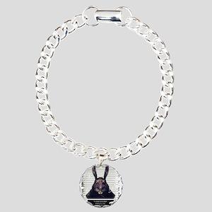 Evil Easter Bunny Rabbit SOLO Bracelet