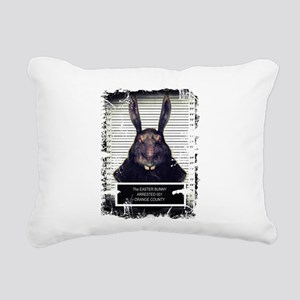 Evil Easter Bunny Rabbit SOLO Rectangular Canvas P