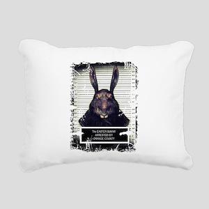 Evil Easter Bunny Rabbit SOLO Rectangular Canvas P