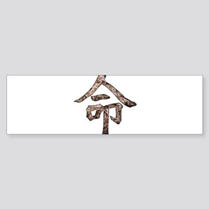 Kanji - Destiny Bumper Sticker