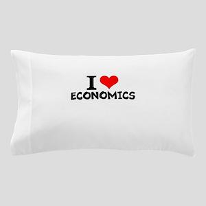 I Love Economics Pillow Case