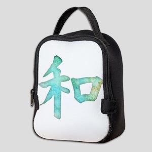 Kanji - harmony Neoprene Lunch Bag