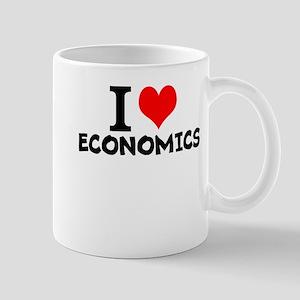 I Love Economics Mugs
