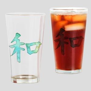 Kanji - harmony Drinking Glass