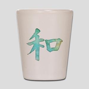 Kanji - harmony Shot Glass
