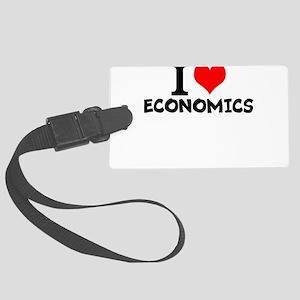 I Love Economics Luggage Tag