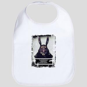 Evil Easter Bunny Rabbit SOLO Bib