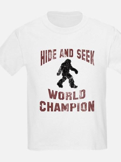 Bigfoot Hide and Seek T-Shirt