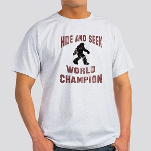 Bigfoot Hide and Seek Light T-Shirt