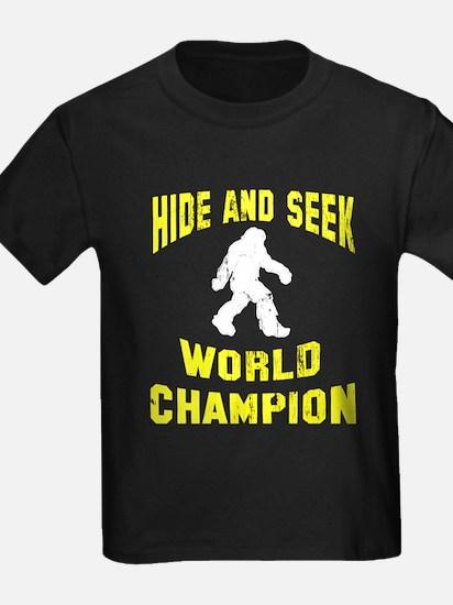 Bigfoot Hide and Seek T
