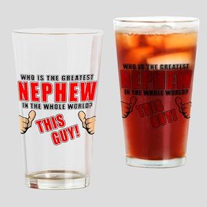 GREATEST NEPHEW Drinking Glass