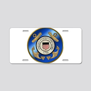 CoastGuard2 Aluminum License Plate