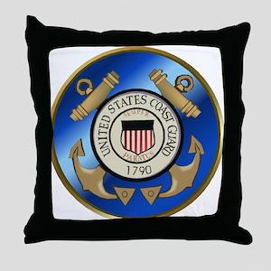 CoastGuard2 Throw Pillow