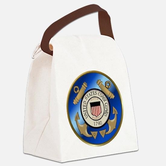 CoastGuard2.png Canvas Lunch Bag