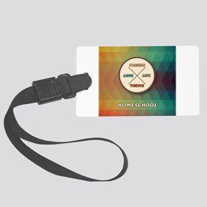 Love Life Passion Thrive Luggage Tag