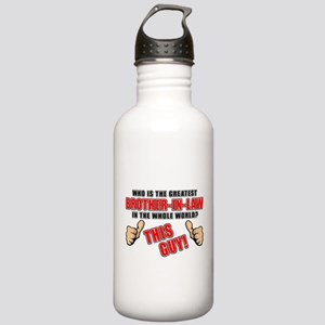 GREATEST BROTHER-IN-LAW Stainless Water Bottle 1.0