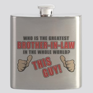 GREATEST BROTHER-IN-LAW Flask