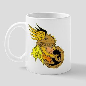 Viking Warrior & Shield Mug
