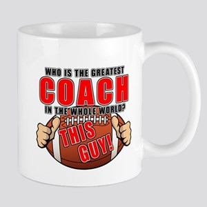 GREATEST FOOTBALL COACH Mug