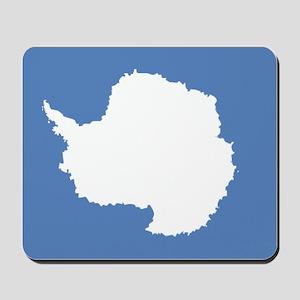 Antarctic flag Mousepad