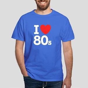 I Love 80's Dark T-Shirt