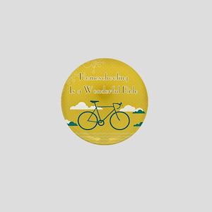 Homeschooling Wonderful Ride Mini Button