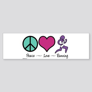peacelove copy Bumper Sticker