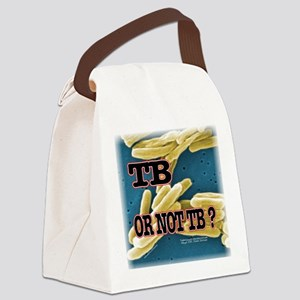 Tb or Not TB Canvas Lunch Bag