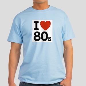 I Love 80's Light T-Shirt
