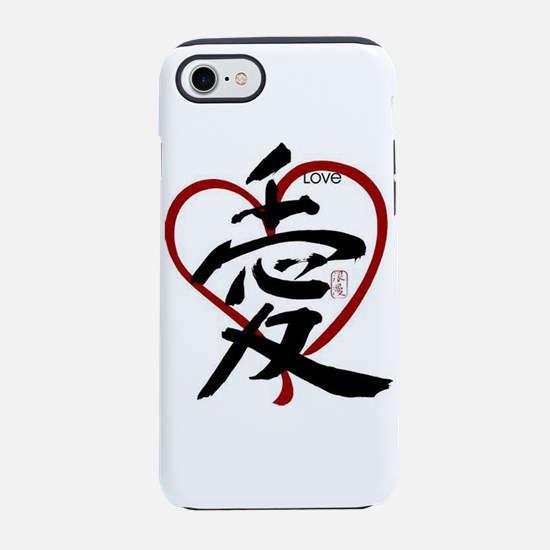 Asian Love iPhone 7 Tough Case