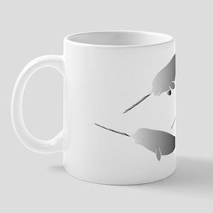 whale whales narwal narwhale unicorn sc Mug