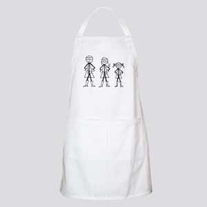 Super Family 1 Girl Apron