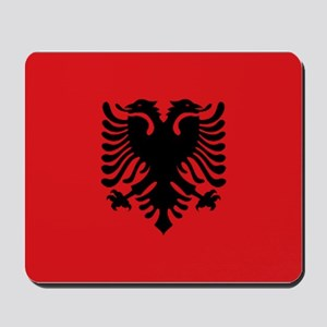 Albanian flag Mousepad