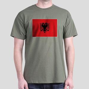 Albanian flag Dark T-Shirt