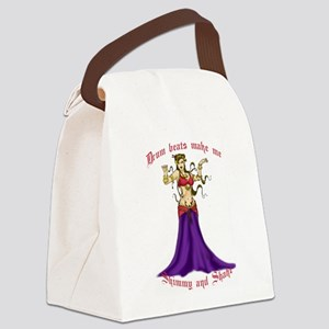 Shimmy and Shake Canvas Lunch Bag